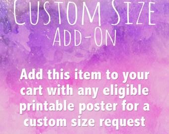Custom Size Add-on
