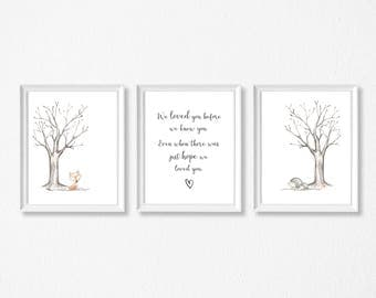 Adoption Print / Adoption Quote / Nursery Print / Genes / A4 Wall art / Family / Poster / adoption cards