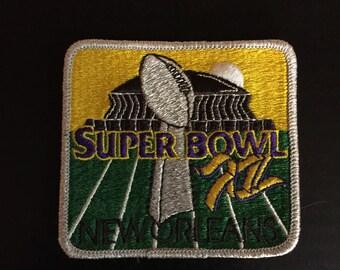 Super Bowl 12 (XII) patch