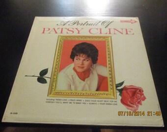 Patsy Cline vinyl - A  Portrait of Patsy Cline - Original Edition - Album in VG++  Condition.