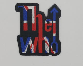 The Who - Embroided patch