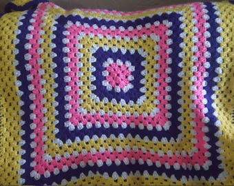 Lapghan or baby blanket