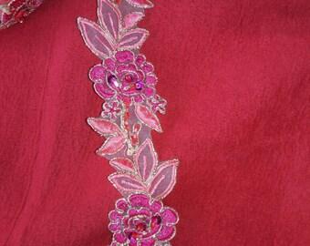 Vide Lace color pink