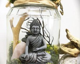 Meditating Buddha Garden