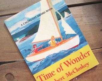 Time of Wonder Robert McCloskey Vintage Picture Book Caldecott Award Book