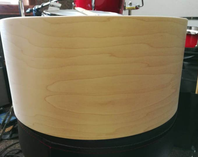 Vintage style 14x6.5 3ply maple, poplar, maple bare snare drum shell by Erie drums