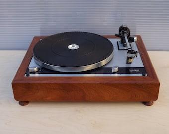 Mahogany wood PLINTH for Thorens TD-145 / 160 turntable series / Custom turntable wood plinth