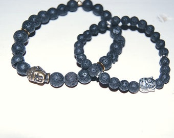 His and Hers Buddha Bracelets