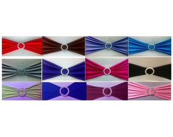 Bowline lycra + brooch / / set of 10