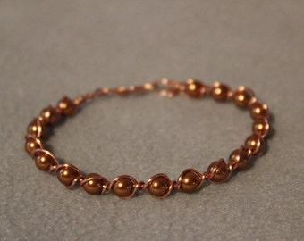 Becca Non Tarnish Copper bracelet