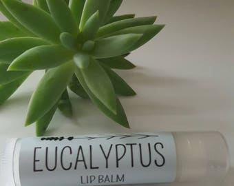 Eucalyptus Essential Oil Lip Balm