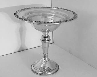 Rogers Sterling Silver Pedestal Compote 1865-1867