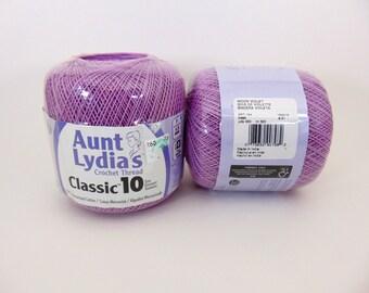 Wood Violet Aunt Lydia's Crochet Cotton Classic Size 10