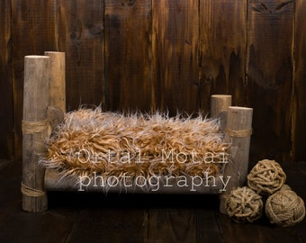 digital newborn backdrop, digital newborn background newborn prop,newborn digitalbackdrop, Digital download, newborn bed, newborn wood bed