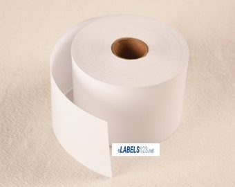 4 rolls of Dymo® Compatible 30270 Continuous Receipt Paper Rolls.
