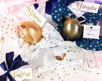 Will you be my Bridesmaid? Balloon box
