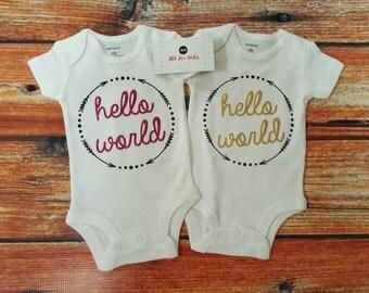 Baby Clothes, Hello world