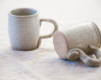 Small Vintage Ceramic Mugs (2)
