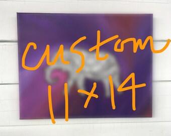 Custom Painting (11x14)