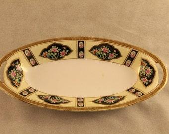 Antique Noritake Morimura Dish Serving Bowl China