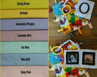 Mini Pram Photo Book/Album - Pram Toy - Personalised