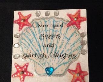 Mermaid Keepsake/Jewelry Box