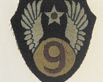 WWII USAAF 9th Air Force English Made Patch