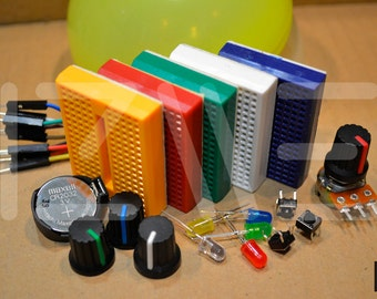 Kit of electronics for children and adults. KIT 2
