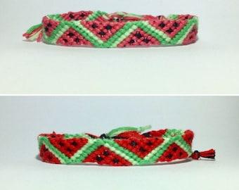 Watermelon Watermelon Bracelets Friendshipbracelets 2.50