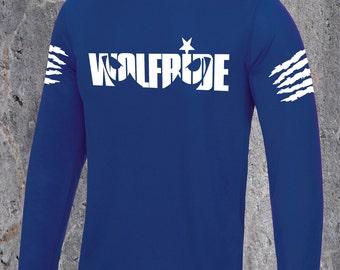 Wolfride long sleeve performance technical mountain bike top