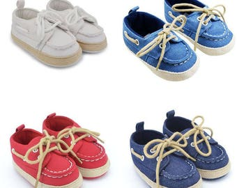 Toddler First Walkers Cotton Canvas Shoes Infant Sneaker Soft Bottom Baby Crib Shoes Custom by DoraBoutique