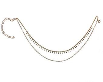Malaika double layered chain