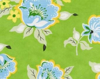HB20 Green by Free Spirit Heather Bailey Nicey Jane - Church Flowers