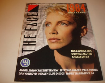 THE FACE #57~January 1985~UK Pop Culture Magazine~Annie Lennox Interview