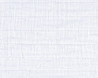 Snow White Swaddle / Gauze / Muslin Cotton Shannon Fabric by the Yard