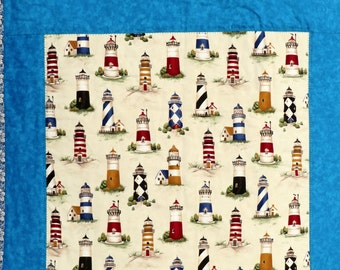 Wall Hanging of Lighthouses with Blue