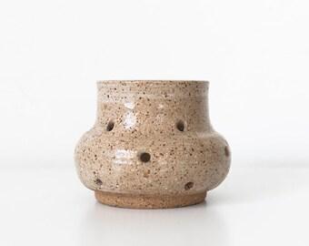 Ceramic Tealight Holder, Studio Pottery Candle Holder, Ceramic Luminaries