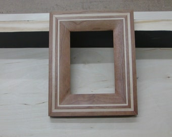5 x 7 solid wood picture frame
