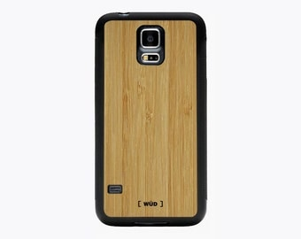 Wood Phone Case for Samsung Galaxy S5 - Bamboo
