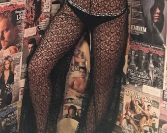 Bell bottom cage pants
