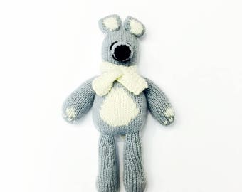 Cashmere Bear for Babies + Little Ones-Handmade Baby Gift. Made at a Women's Center, Nepal-Proceeds support education for Nepali children.