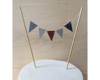 Cake Topper - Bunting