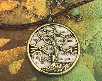 Fangorn Forest Lord of The Rings Necklace