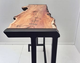 English Yew Entrance/Side Table