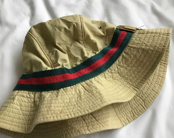 Gucci bucket hat made in italy