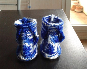 Baby booties baby shoes