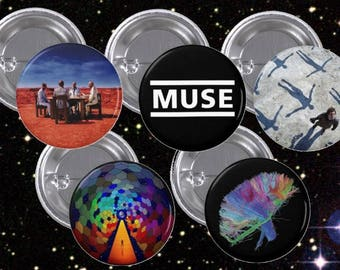 "Muse 1.5"" Buttons"