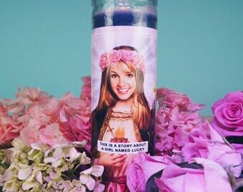 Saint Britney | Britney Spears Prayer Candle