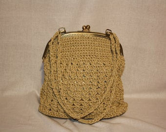 handmade bag,vintage like bag