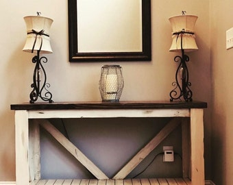 Rustic Sofa Table, Entry Table, Rustic, Home Decor